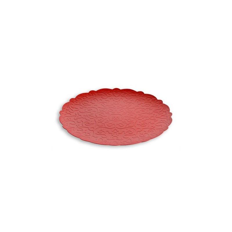 Vassoio rosso 35cm Dressed