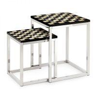 Set 2 tavolini ad incastro