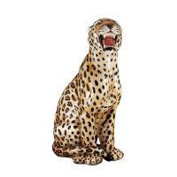 Statua leopardo