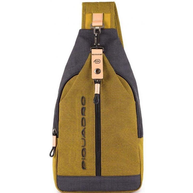 ea5a8e2ecc Borsello monospalla giallo Blade piquadro   DomuStore, Luxury Store