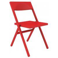 sedia rossa moderna pieghevole Piana