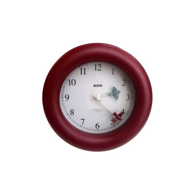 Orologio rosso uccellini alessi | DomuStore, Luxury Store