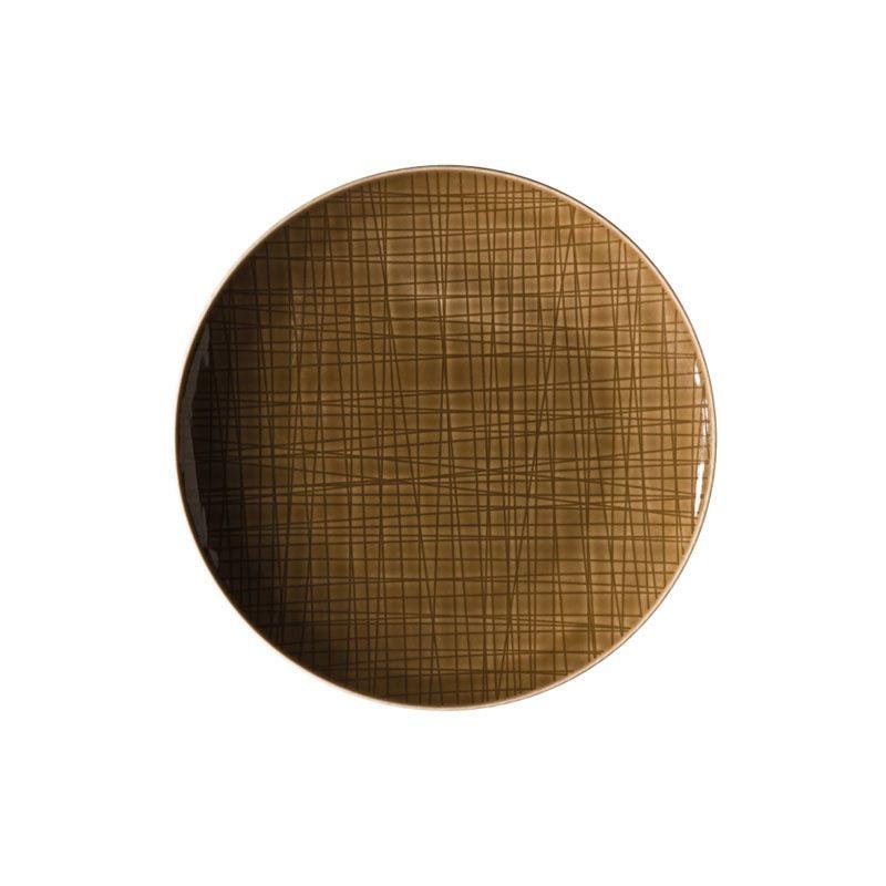 Servizio torta marrone 7 pezzi mesh