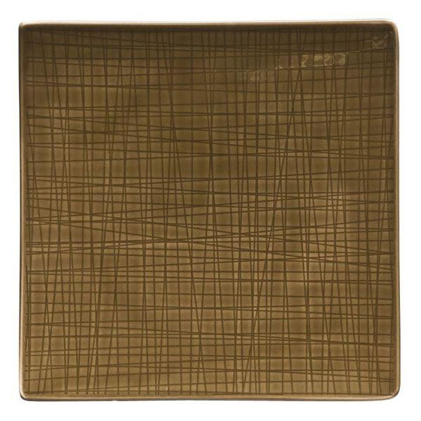 Servizio 18 piatti marrone mesh