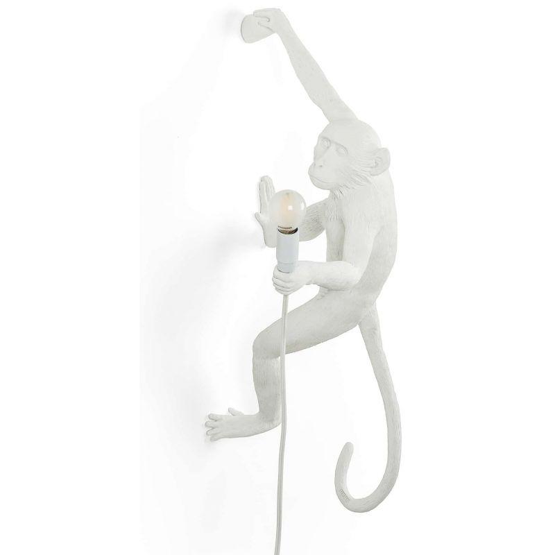lampada scimmia appesa a Destra monkey lamp