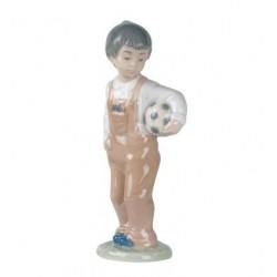 ragazzo con pallone