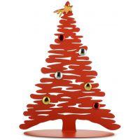 Albero di Natale rosso 30cm Bark for Christmas