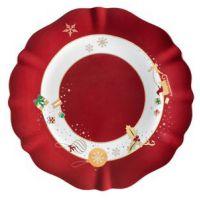 piatto portata natalizi 30cm alleluia