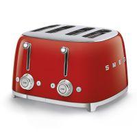 Doppio tostapane rosso logo 3D anni 50