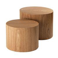 Set 2 Tavolini ovali