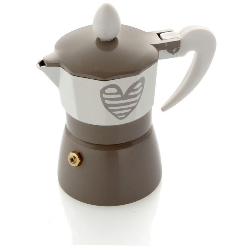 Bomboniera caffettiera una tazza batticuore