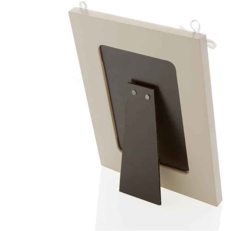 Bomboniera portafoto tortora 22cm