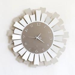 orologio lux nocciola bianco
