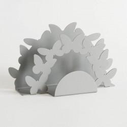 portatovaglioli farfalle doppio alluminio