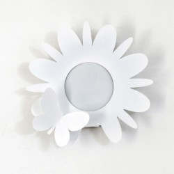 porta umidificatori fiorello bianco