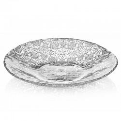 centrotavola arabesque argento 41cm