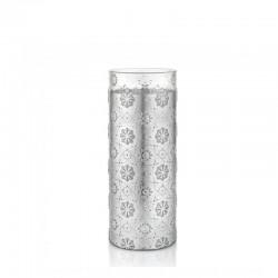 Vaso argento 32cm arabesque