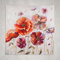 Quadro Dark flowers  100cm