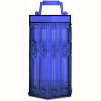 Lanterna blu a led senza fili Baroque Rock