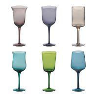 Set 12 bicchieri colorati Diseguale