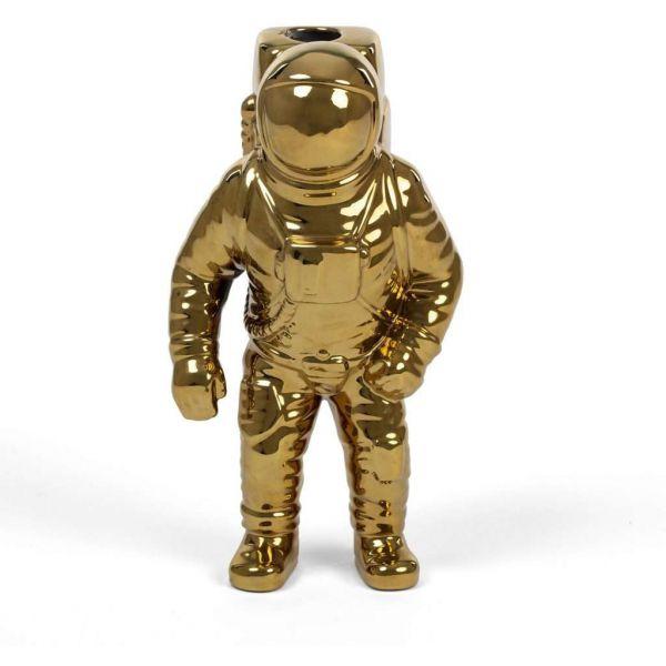 vaso oro astronauta cosmic diner starman