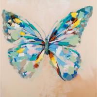 Quadro papillon 60cm