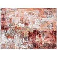 Quadro pink abstract 150cm