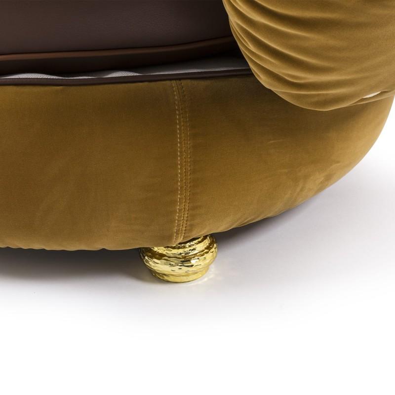 Poltrona con cuscini Burger Chair