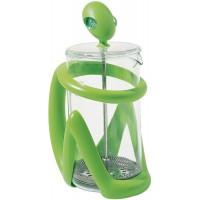 caffettiera presso filtro verde