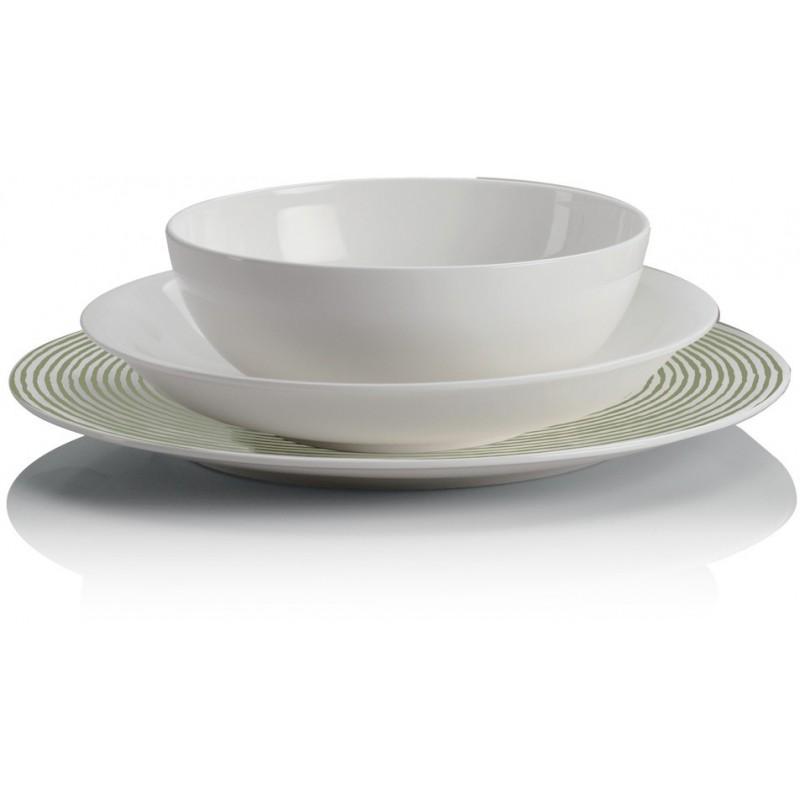 servizio 38 piatti acquerello