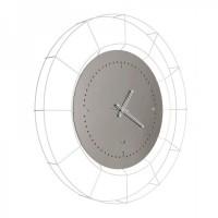 orologio nudo grande acciaio bianco