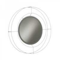 specchio nudo piccolo bianco