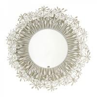 specchio soffione avorio bianco
