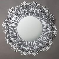 specchio soffione bianco ardesia