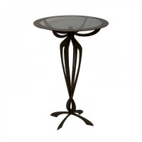 tavolino alto minerva bronzo