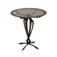 tavolino basso minerva bronzo