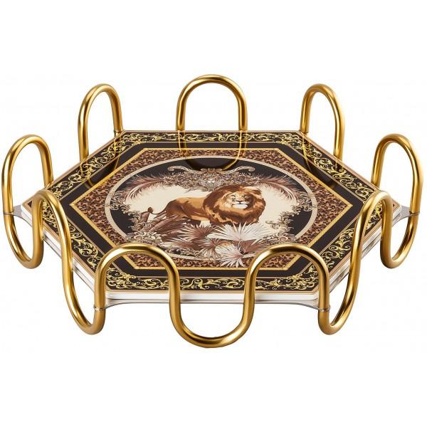 Vassoio 31cm 2 pezzi Le Règne Animal