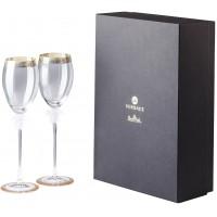 Set regalo 2 calici vino bianco Medusa d'Or