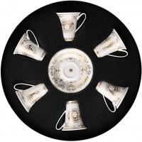 Set 6 tazze da caffè Medusa Gala Gold