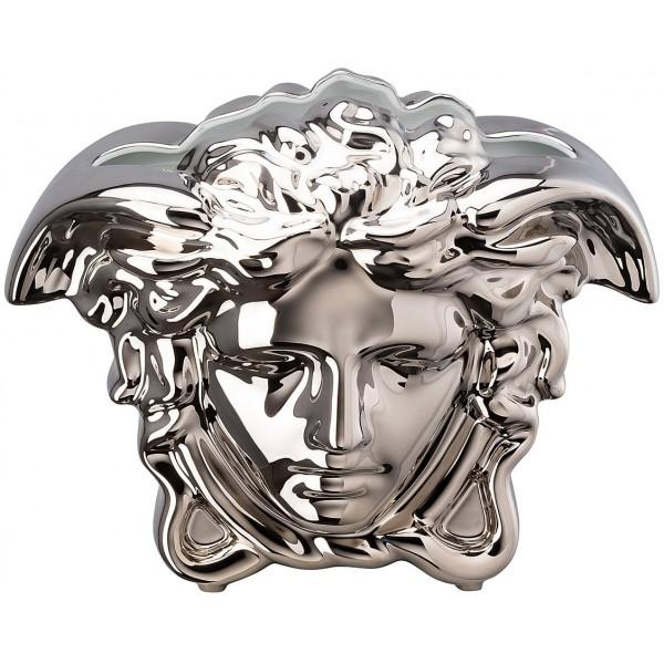 Vaso argento 21cm Medusa