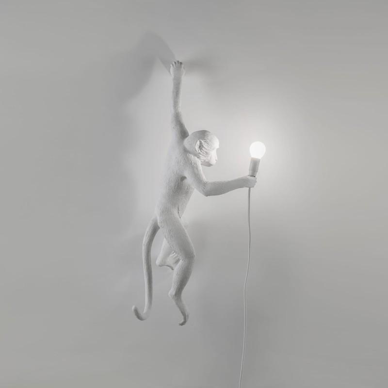 lampada scimmia appesa a Sinistra monkey lamp