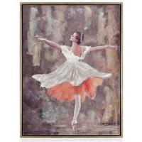 quadro lucido ballerina danza classica