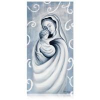 quadro maria col bambino