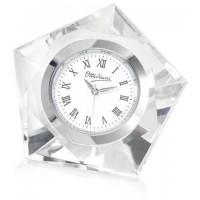 Bomboniera orologio in cristallo da tavolo