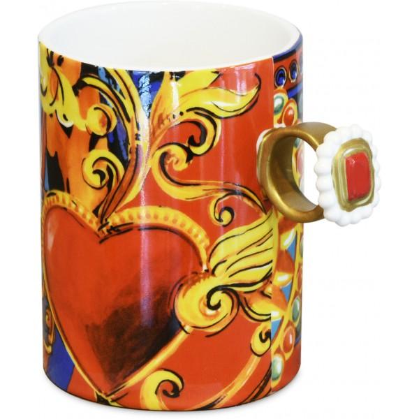 Bomboniera mug red mood