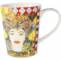 Bomboniera mug rosso sicily