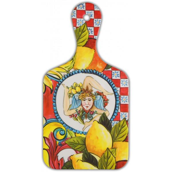 Bomboniera tagliere piccolo baroque orange sicily