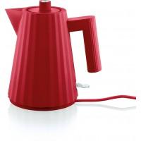 Bollitore elettrico rosso Plissè