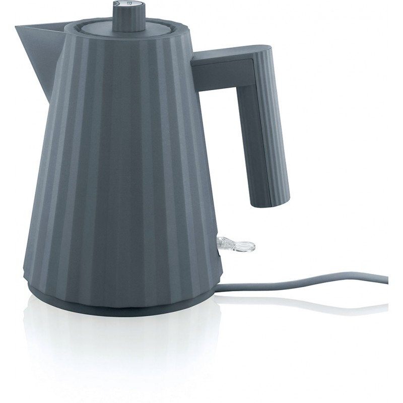 Bollitore elettrico grigio Plissè