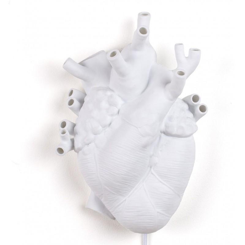 Lampada da parete cuore heart lamp